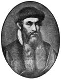 Death of Johannes Gutenberg